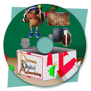 Promotional CD-ROM Design for DDA's Christmas Card