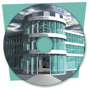 Promotional  CD-ROM with 3D Animation Designed for DDA (2002)