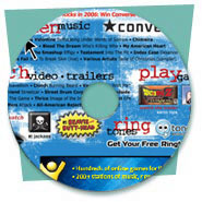 Promotional CD-ROM Design for Hot Topic